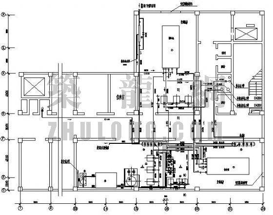 某医院空调主机房施工图