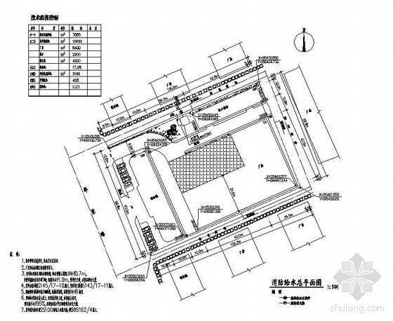 深圳某工业园消防报建图纸