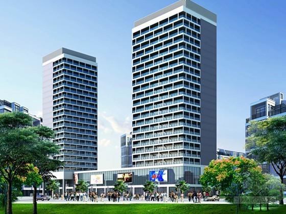 [贵州]大型高层住宅商业综合体全套电气施工图纸(采用新火规)