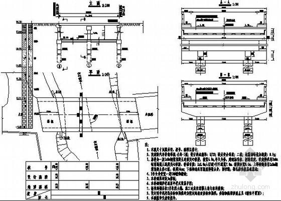 2x8m现浇连续实心板小桥施工图设计(2013年)