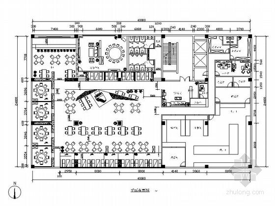 五套优雅豪华西餐厅室内装修图