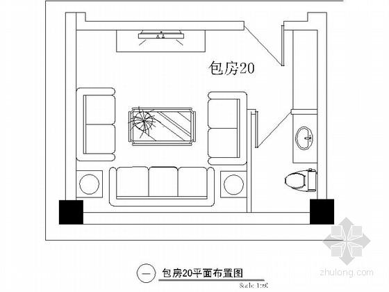 欧式娱乐会所资料下载-某欧式娱乐会所包房20装修图
