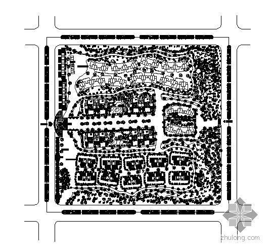 某生态小区规划设计资料下载-某生态小区规划设计