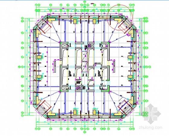 [江苏]超高层塔楼核心筒外框液压爬架施工方案
