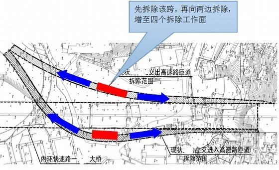 [重庆]桥下有永久性高层建筑高架连续箱梁桥切割拆除施工安全专项方案126页