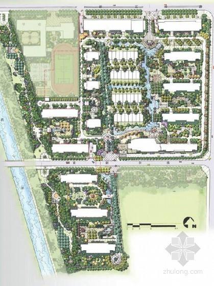 [石家庄]滨水小区景观设计方案