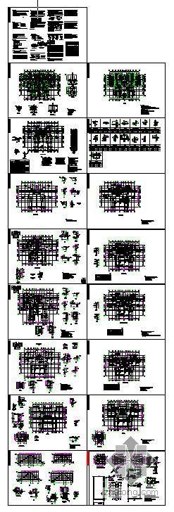 经典25层剪力墙结构
