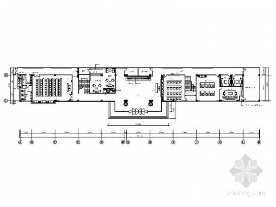 [山西]某光伏公司现代风写字楼室内装修施工图(含效果)
