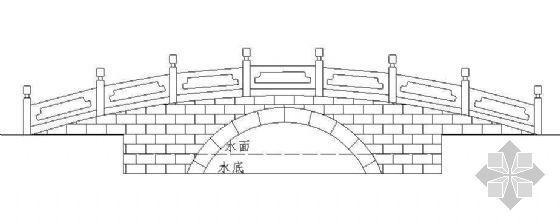 金水桥施工图
