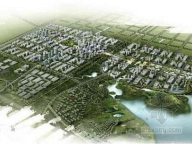 安徽城市北部核心区城市规划设计