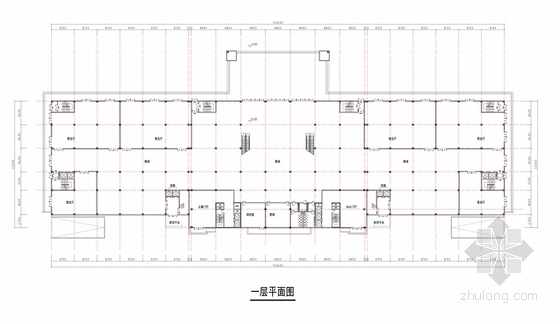 [河南]26层现代风格高档酒店公寓设计方案文本-26层现代风格高档酒店公寓各层平面图
