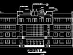 某中学教学楼建筑施工图(含有结构图)