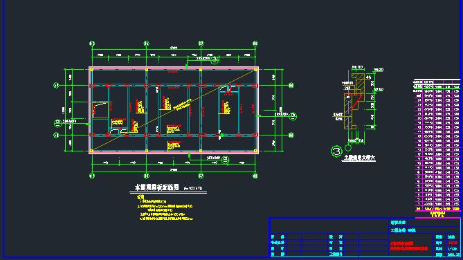 [湖南]地上24层框架核心筒结构商务楼结构施工图_3