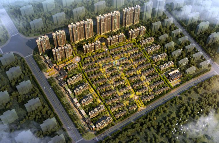 青岛亿路发河套项目方案设计