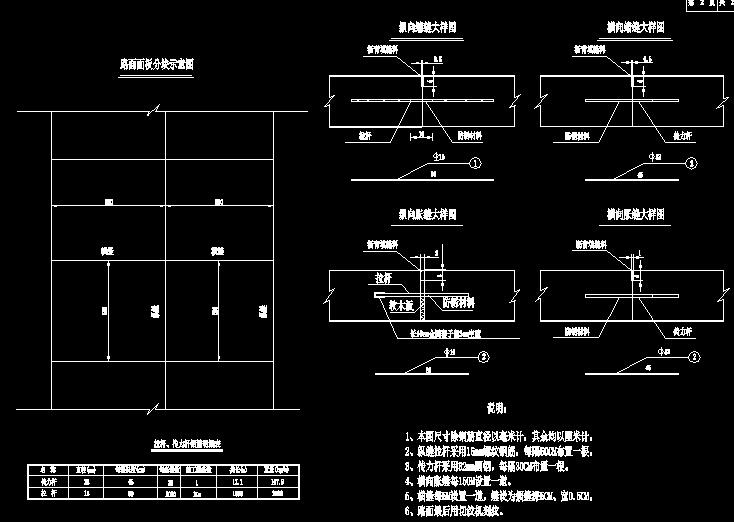 宽16米二级公路工程设计图170页附总预算60页(水泥混凝土路面)_4