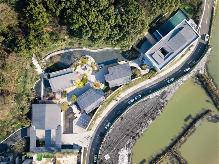 万科白石湖东住宅新中式景观-3