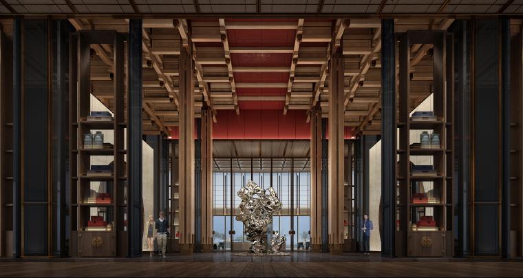 [美高梅]CCD-杭州泛海钓鱼台酒店方案设计+高清效果图