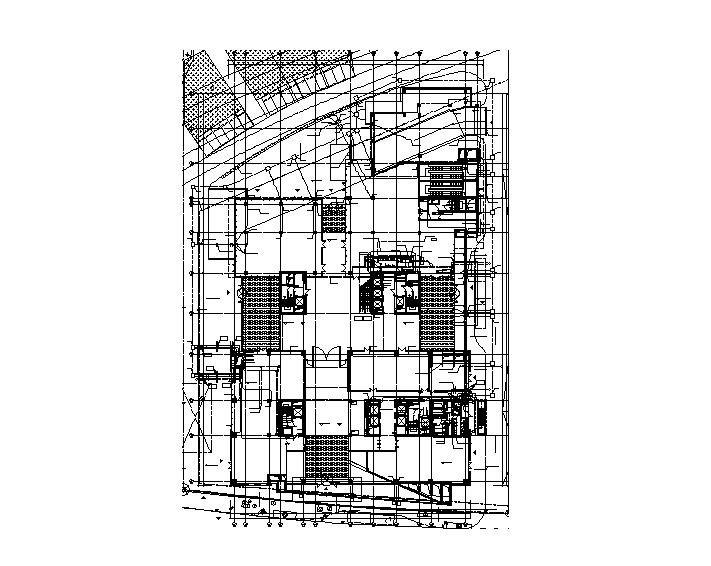 上海华泰金融大厦给排水全套施工图(含消防、排版工整)
