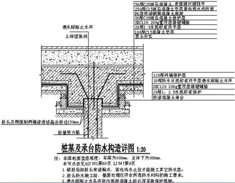 [黑龙江]高层住宅楼工程SBC120防水施工技术交底
