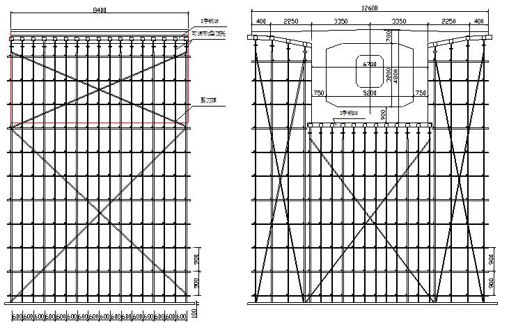 跨高速铁路特大桥悬臂浇筑预应力混凝土连续梁施工方案