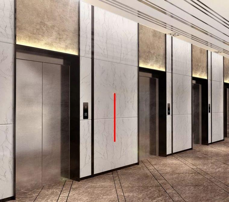 酒店电梯厅区域的石材干挂技术交底,全面了解