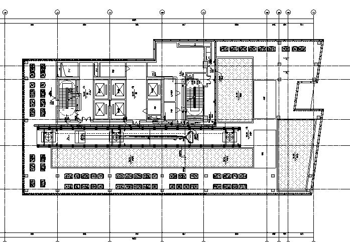深圳超高层办公建筑给排水施工图(含气体灭火系统设计,给排水负荷计算)