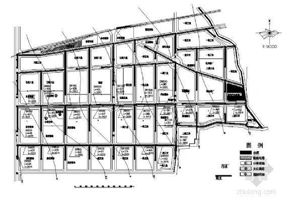 某市工业园区排水管网设计(课程设计)