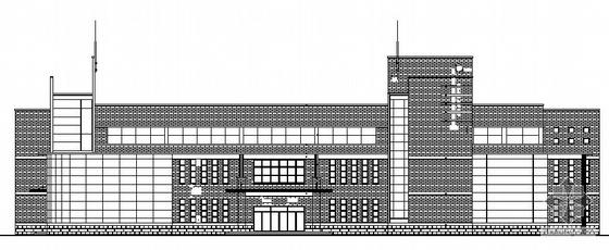 [江苏省]某三层学校食堂建筑施工图