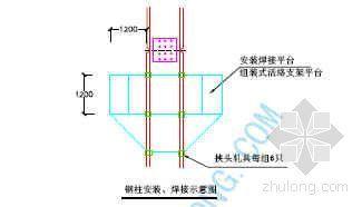 上海某大厦工程钢结构施工方案