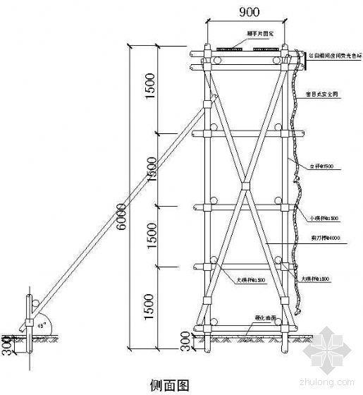 温州某高层行政楼变压器安全防护棚搭设方案