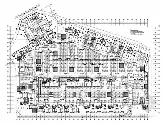 [广东]33万平综合商住楼全套电气施工图纸450张(大样)