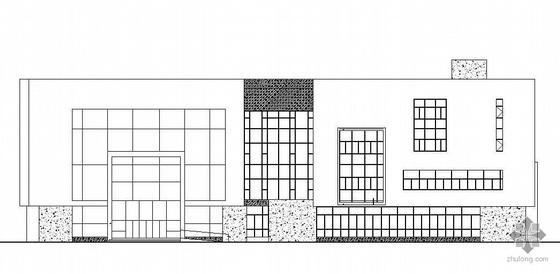 某五层图书馆建筑施工图