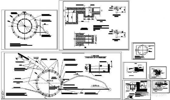 音乐喷泉设计施工节点图