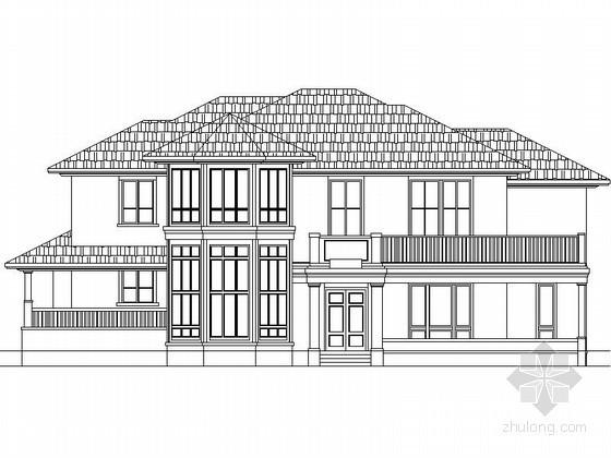 某二层368平方米经典别墅方案图(南入口、含效果图)