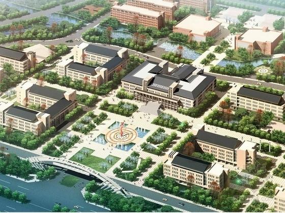 [山东]某大学5层图书馆建筑方案文本(含PPT)