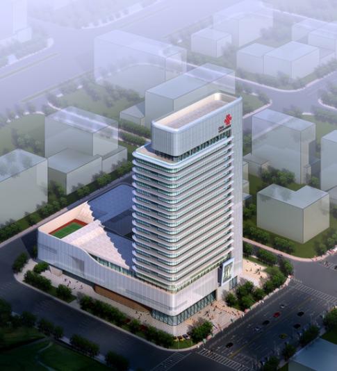 [江苏]CBD核心区现代风格办公大楼建筑方案设计文本