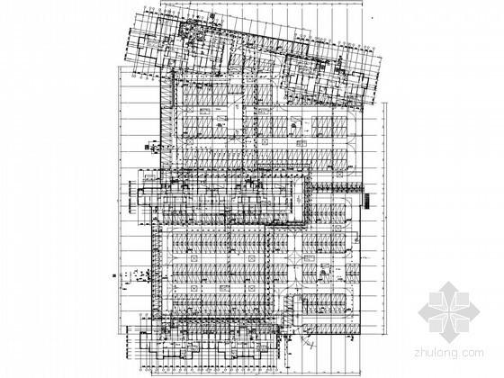 [山东]地下车库专项给排水消防施工图(压力排水)