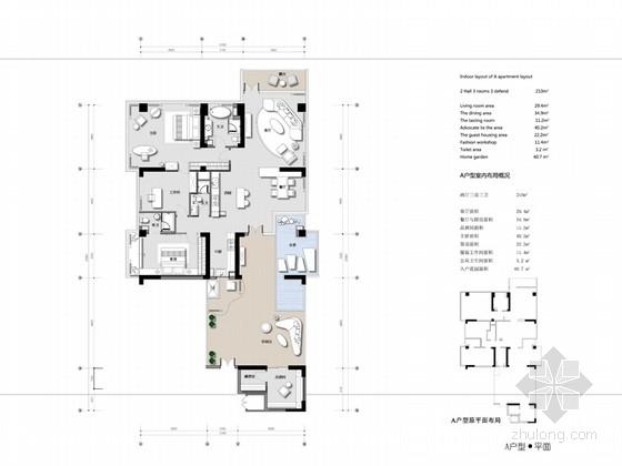 [四川]个性强烈主题突出样板间概念设计方案(含效果图)