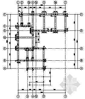 V型滤池结构图纸资料下载-上海某高档别墅(C型)全套结构图纸