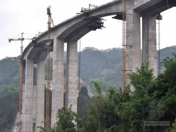 [广东]专家评审桥梁15~38米高墩施工专项方案64页(空心薄壁墩 双柱圆墩)