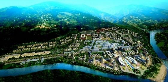 [四川]青瓦白墙木构件山地城市综合体建筑设计方案文本(知名设计院)