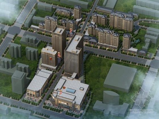 [内蒙古]现代风格商业广场设计方案文本(含CAD)