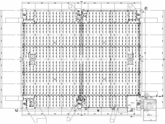 2万平米物流配送库房给排水施工图(虹吸雨水系统)