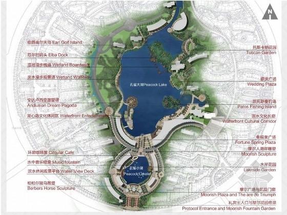 [北京]城市休闲型滨湖公园景观规划设计方案