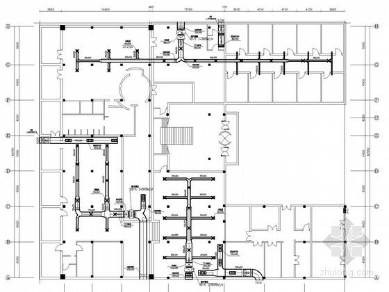 vrv中央空调系统北京资料下载-[北京]洗浴会馆中央空调工程系统设计施工图