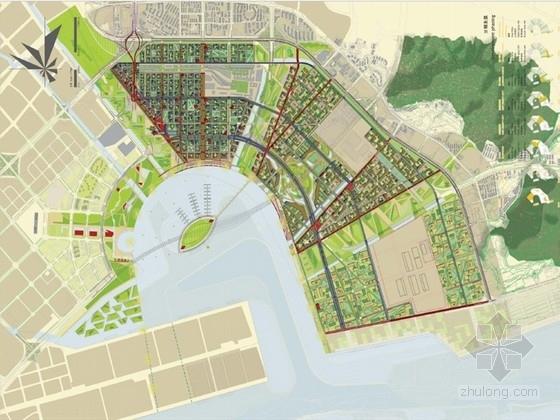 [深圳]国际创意滨海城市景观规划方案