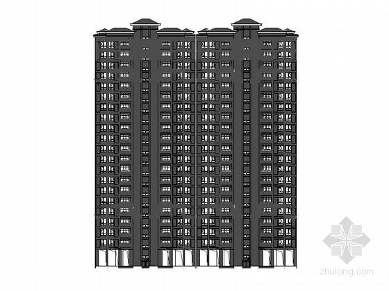 [四川]二十一层住宅拆迁安置房施工图(甲级设计院)