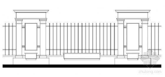 21款装饰栏杆施工图