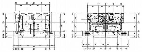 某别墅强弱电系统平面图