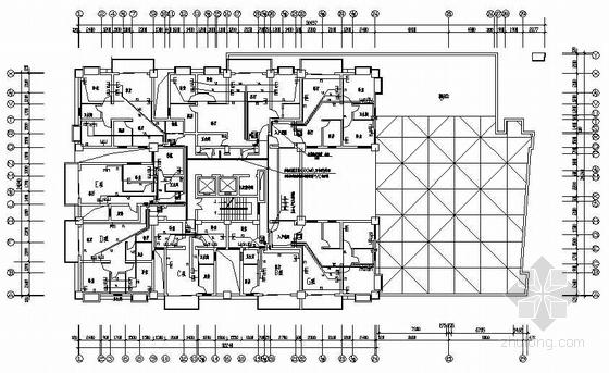 十五层公寓电气图